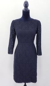 Elie Tahari | Carla Black Lace Dress 6